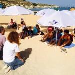 Mgarr summer school children attending the event